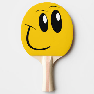 Funny Face Table Tennis Paddle Ping Pong Paddle
