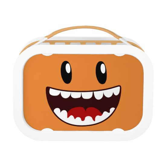 Funny Face Wide Mouth Lunch Boxes