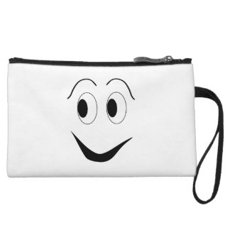 Funny face wristlet
