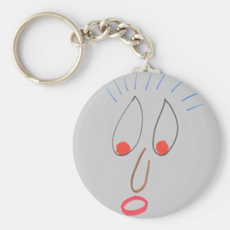 Funny Faces Keychain