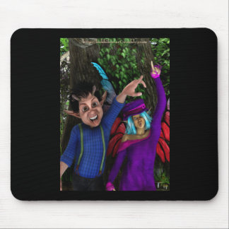 Funny Faces Mouse Pad