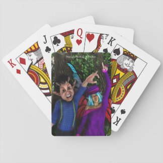 Funny Faces Playing Cards