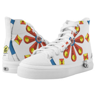Funny fan high tops