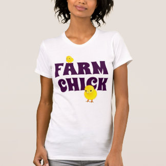 "Funny ""Farm Chick"" T-Shirt"
