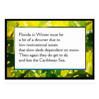Funny Farm Poem Card #1
