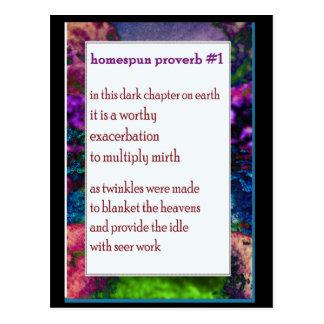 Funny Farm Poem Card #11