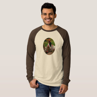 Funny Farmyard Chickens Hens & Rooster Men's Shirt