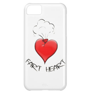Funny Fart Heart iPhone 5C Case