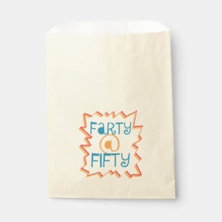 Funny Farty at Fifty 50th Birthday Gag Gift Favour Bag