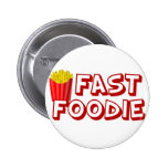 Funny Fast Food 2 Inch Round Button