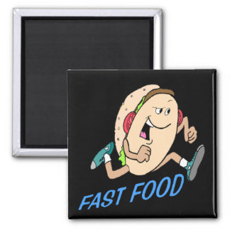Funny Fast Food T-shirts Gifts Magnet