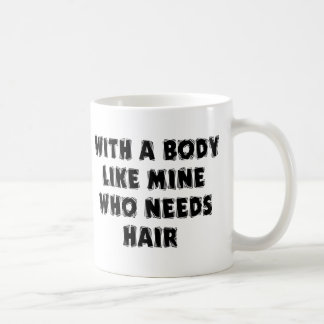 Funny Father's Day Bald Man Coffee Mug