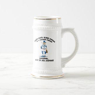 Funny Father's Day Baseball Dad Coffee Mug