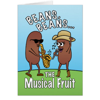 Funny Father's Day Bean Joke Card