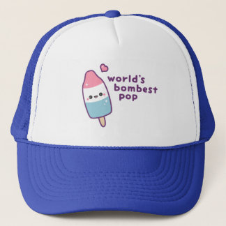 Funny Father's Day Popsicle Pun Trucker Hat