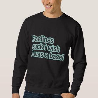 "Funny ""Feelings Suck I Wish I Was A Bagel"" Shirt"