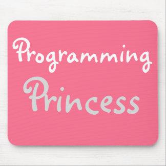 Funny Female Programmer Nickname Joke Title Mouse Pad