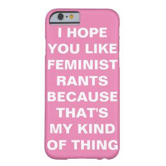 Funny Feminist iPhone 6 Case