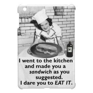 Funny Feminist Make Me a Sandwich iPad Mini Case