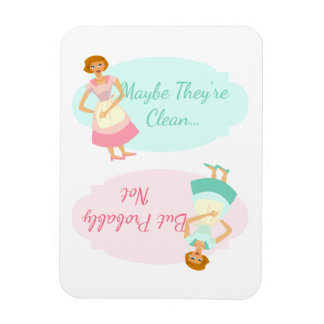 Funny Fifties Housewife Dishwasher Magnet