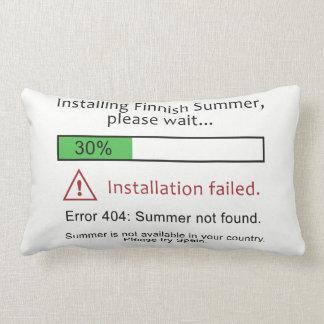 Funny Finnish Summer throw pillows