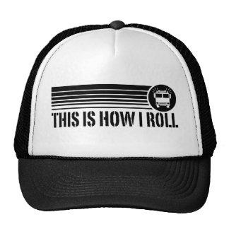 Funny Firefighter Trucker Hat