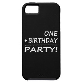 Funny First Birthdays : One + Birthday = Party iPhone 5 Cases