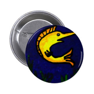 Funny Fish 1 Pinback Button