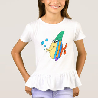 funny fish children animals cartoon T-Shirt