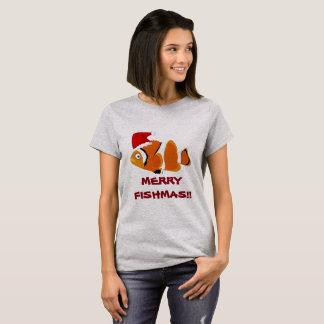 Funny Fish 'Merry Fishmas' T-shirt