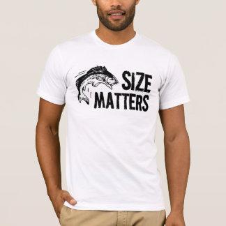 Funny Fisherman - Size Matters! T-Shirt