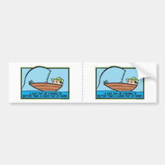 Funny Fisherman's Bumper Sticker