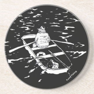 Funny Fishing Coaster