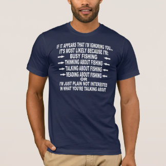FUNNY FISHING OBSESSION T-Shirt
