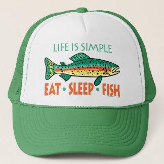 Funny Fishing Saying Trucker Hat