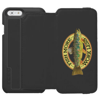 Funny Fishing Words for a Fisherman Incipio Watson™ iPhone 6 Wallet Case