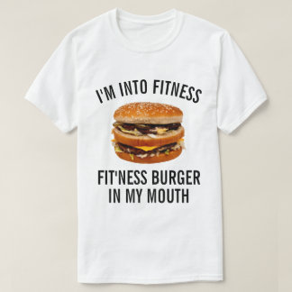 Funny Fitness Burger T-Shirt