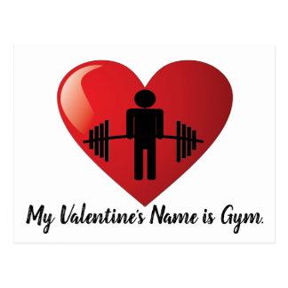 Funny Fitness Gym Valentine Card