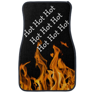 Funny Flaming Hot Car Floor Mats