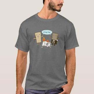 Funny Flaming Marshmallow T-Shirt