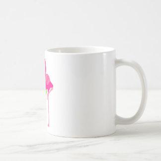 Funny Flamingo Drinking a Margarita Coffee Mug