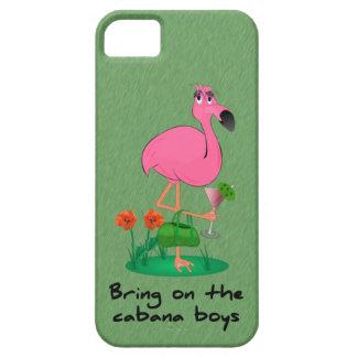 Funny Flamingo iPhone 5 Case