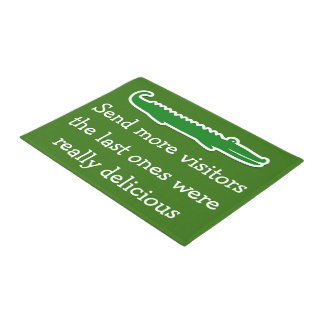 Funny Florida Home Welcome Mats