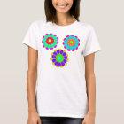 Funny Flower Power Bloom I II III T-Shirt