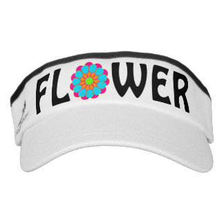 Funny Flower Power Bloom III + your backgr. & idea Visor