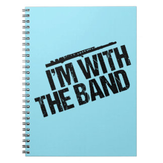 Funny Flute I'm With the Band Notebooks