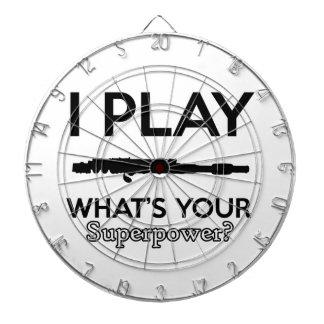 funny flutes design dart board