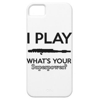 funny flutes design iPhone 5 cover
