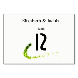 Funny food quote Table cards