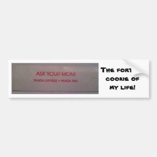 Funny Fortune Bumper Sticker